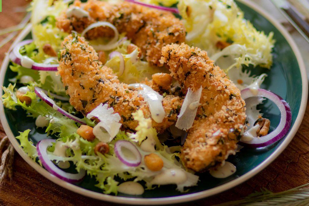 Salade César au Poulet Fermier des Landes