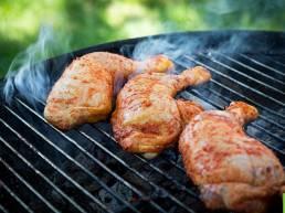 Poulet Fermier des Landes marinade et barbecue, façon churrasco