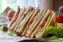 Club sandwich au Poulet Fermier des LandesClub sandwich au Poulet Fermier des Landes